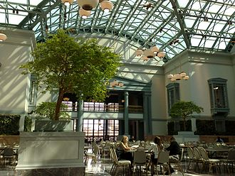 Harold Washington Library - The Library's Winter Garden on the 9th floor