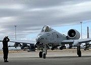 A-10C arrives in Davis-Monthan