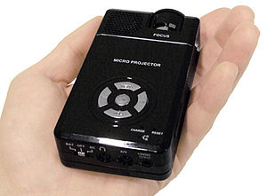 Handheld projector - Handheld
