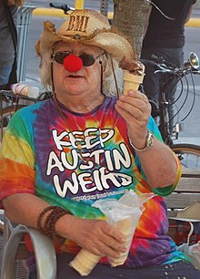 ACC The Accent Wavy Gravy passing out free ice cream (3377996458) (cropped).jpg