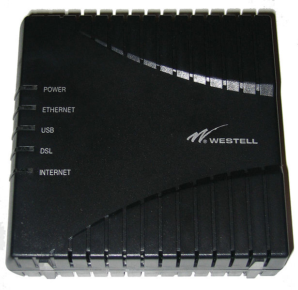ADSL Modem Westell 6100