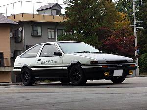 Amazing Toyota Corolla Levin/Sprinter Trueno (AE86). AE86