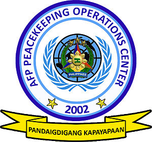 AFP Peacekeeping Operations Center - Unit Seal of the AFP Peacekeeping Operations Center