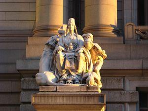Alexander Hamilton U.S. Custom House - Image: AHCH 1Asia jeh