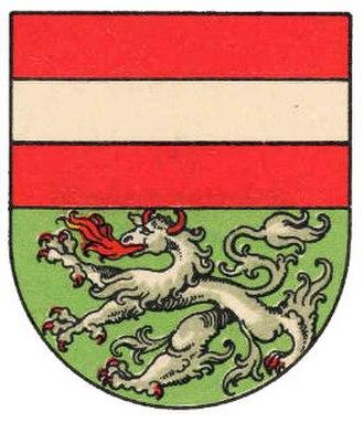 Mödling - Image: AUT Mödling COA