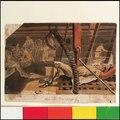 A Marine asleep beneath a companionway on the 'Pallas' (Bray album) RMG PT2031.tiff
