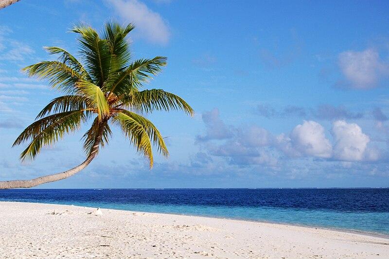 File:A beach in Maldives.jpg