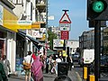 A busy pavement on Harrow Road - geograph.org.uk - 187478.jpg