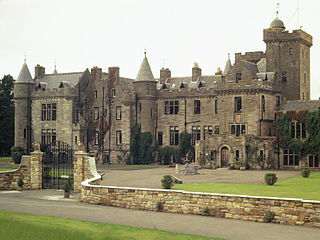 Glenapp Castle country house in South Ayrshire, Scotland, UK
