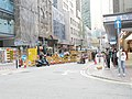 A engineering site in the street on Causeway Bay.jpg
