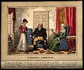 A misunderstanding between a doctor his patient and her daug Wellcome V0010949.jpg