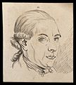 A musician. Drawing, c. 1789. Wellcome V0009113EL.jpg