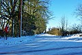 A snowy Wimlands Lane - geograph.org.uk - 1626837.jpg