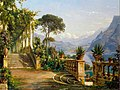 Aagaard, Carl Frederic - Lodge on Lake Como.jpg