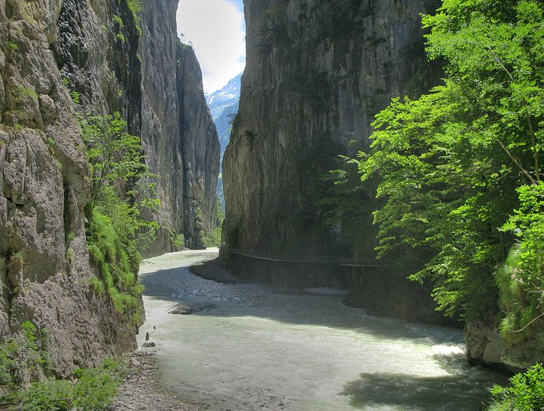 Meiringen - Gorge of the Aare