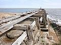 Abandoned jetty, at Landguard Point - geograph.org.uk - 2475017.jpg