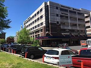 Abington Hospital emergency room entrance
