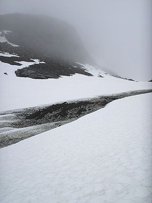 Dirt cone - Dirt cones near Gorsajökull, Sweden