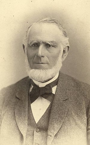 Abraham O. Smoot - Photo of A. O. Smoot by C. R. Savage.