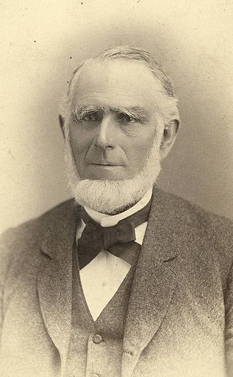 Abraham O. Smoot - Photo of A. O. Smoot by C. R. Savage.