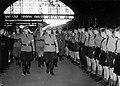 Accueil par la Hitlerjugend Flandern à Bruxelles d'une délégation de la Hitlerjugend allemande.jpg