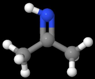 Acetone imine - Image: Acetone Imine molecular view