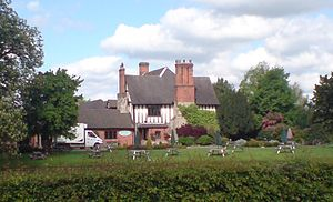 Acton Trussell - The Moat House, Acton Trussell, May 2008