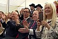 Adelsons at US Embassy Jerusalem Dedication Ceremony.jpg