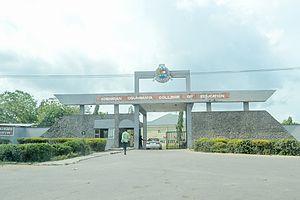Adeniran Ogunsanya College of Education - Image: Adeniran Ogunsanya College of Education