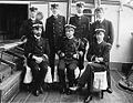 Admiral Sir Cyprian Bridge, Commander-in-Chief, China Station with staff in 1902.jpg