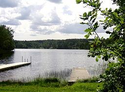 Sjön Ådran.