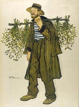 Adrien Barrère - The Mistletoe Seller