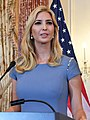Advisor to the President Ivanka Trump Delivers Remarks at the 2017 Trafficking in Persons Report Launch Ceremony (35183984770) (cropped).jpg