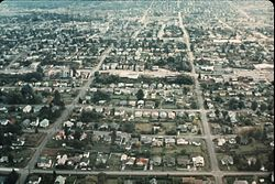 Aerial - Greenwood, Seattle, 1969