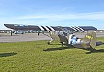 Aeronca Grasshopper L-3B of the United States Army Air Forces, now private as G-BRHP 29Sept2018 arp.jpg