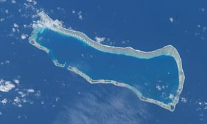 Ailinginae Atoll - NASA photo of Ailinginae Atoll