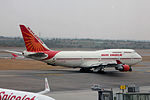 Air India, Boeing 747-437 (25134488720).jpg