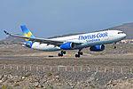Airbus A330-343X 'OY-VKI' Thomas Cook Scandanavia (24889886996).jpg