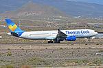 Airbus A330-343X 'OY-VKI' Thomas Cook Scandanavia (24916172205).jpg