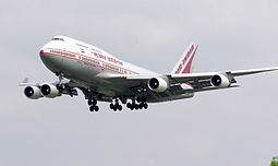 Air Indian Boeing 747-400