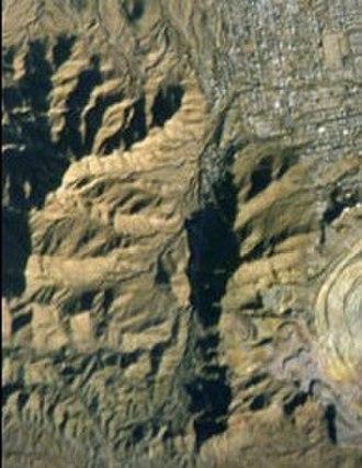 Little Ajo Mountains - Image: Ajo Mountains