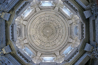 Akshardham (Delhi) - The mandir's central dome