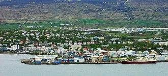 Localities of Iceland - Akureyri