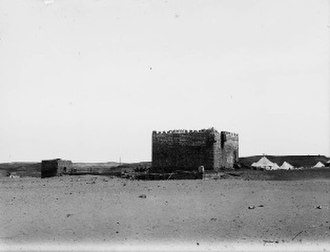 Al-Ukhaydir, Tabuk Province - The fort in 1907
