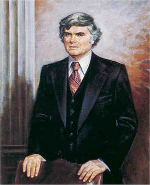 Al Ullman - Portrait of Ullman as chair of the House Ways and Means Committee.