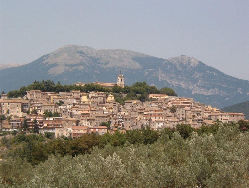 Panorámica Alatri, Italia