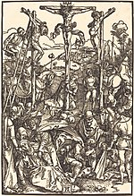 Albrecht Dürer, Calvary with the Three Crosses, c. 1504-1505, NGA 6712.jpg