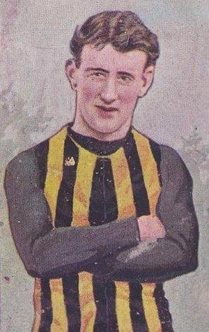 Richmond Football Club - Alec Edmond captained Richmond from 1901 to his retirement in 1907.