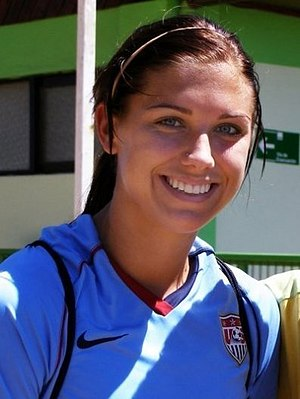 English: Womens soccer player Alex Morgan