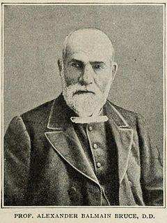 Alexander Balmain Bruce Scottish theologian